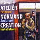 Vernissage de l'exposition «Atelier Normand Création» Rouen 18 janvier