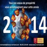 Voeux du Réseau Normand pour la nouvelle année