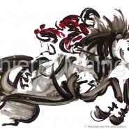 Jeux Equestres Mondiaux : le cheval vu par Thierry Maingé, artiste-peintre