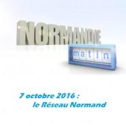 Le Réseau Normand interviewé sur France 3  – Normandie Matin.