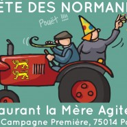 La Fête des Normands à Paris le 29 Septembre, (restaurant la Mère agitée)