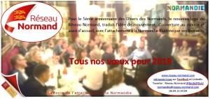 Voeux 2018 - Réseau Normand