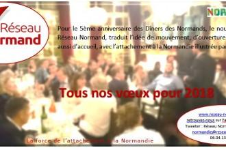 Réseau Normand : Bonne année 2018