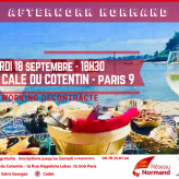 Afterwork Normand    18 Septembre  : 18h30   Paris