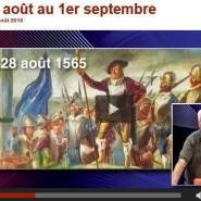 éphéméride hebdomadaire de la Normandie. Didier Patte