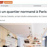 Bientôt un quartier normand à Paris
