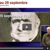 Ephemeride normand de Didier Patte – 23 au 29 /09  (site la Normandie d'action et d'infos)