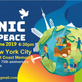 Pique-Nique / PicNic for peace : 6 Juin   New-York