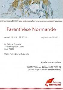 affiche AF - Parenthèse 16 Juillet 2019
