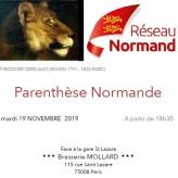 Parenthèse Normande du 19 novembre, 18h30 – Brasserie Mollard