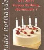 ETUDES NORMANDES :  Numéro spécial 11ème centenaire